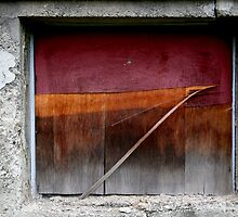 Plywood Window by Peter Baglia
