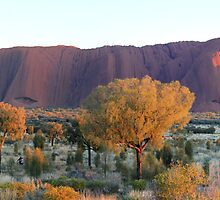 EARLY MORNING ULURU by Brian Puckey