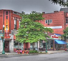 The Brix on Main Street - Cortland, NY by Edith Reynolds