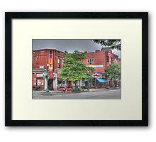 The Brix on Main Street - Cortland, NY Framed Print