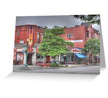 The Brix on Main Street - Cortland, NY Greeting Card