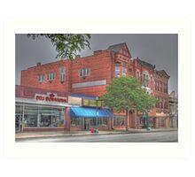 The Deli Downtown - Cortland, NY Art Print