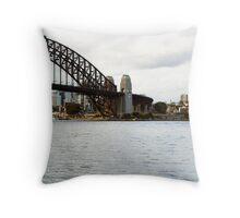 From Circular Quay Throw Pillow