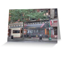A Pizza & More - Cortland, NY Greeting Card