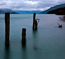 Break of Day over Lake Wakatipu by Odille Esmonde-Morgan