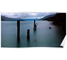 Break of Day over Lake Wakatipu Poster