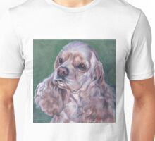 Cocker Spaniel Fine Art Painting Unisex T-Shirt