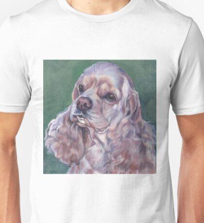 Cocker Spaniel Fine Art Painting Unisex T-Shirt