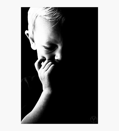 Childs thought Photographic Print