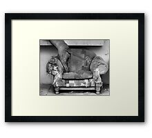 Favourite Couch Framed Print