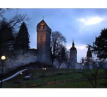 Lucerne Fortress - Painting Photographic Print