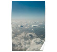 Dream Clouds Across the Sea Poster