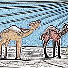 A Desert Pair by Robert Bertino