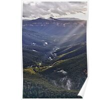 Evans Lookout, Blue Mountains NSW Poster