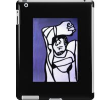 Shaded Figure iPad Case/Skin