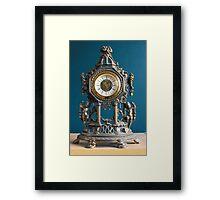 Grandma's Clock Framed Print