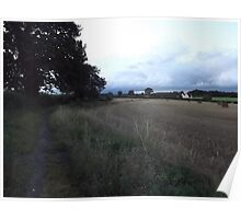Countryside: Kingswood, Surrey -(260811l)- digital photo Poster