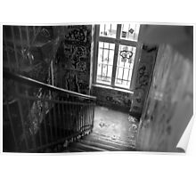 Graffiti staircase Poster