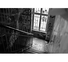 Graffiti staircase Photographic Print