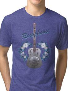 Resophonic Guitar 2 Tri-blend T-Shirt