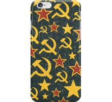 From the USSR with love. iPhone Case/Skin