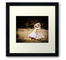 Ruby & Poppy Framed Print