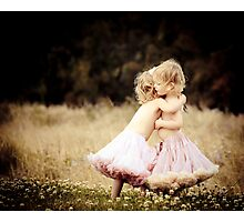 Ruby & Poppy Photographic Print