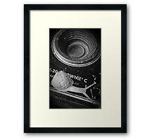 Brownie Snail Framed Print