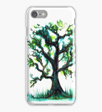 The Peace Tree iPhone Case/Skin