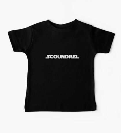 Scoundrel Baby Tee