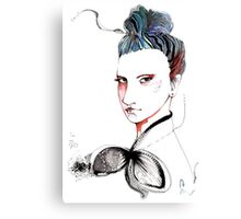 That look!  Canvas Print
