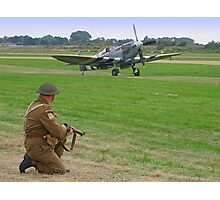 Battle Of Britain Scamble Photographic Print