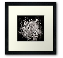 On Fire Framed Print