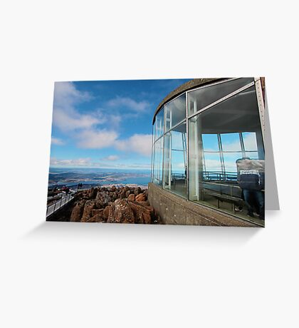 Mt Wellington Greeting Card