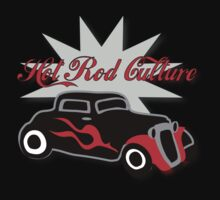Hot Rod Culture Tee Kids Clothes
