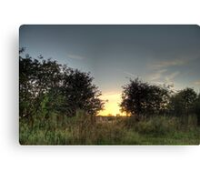 Sunset x2 Canvas Print