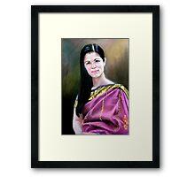 portrait of Jo-anne Framed Print