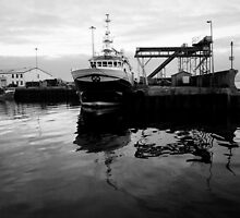Greencastle Harbour by Sarah Cowan