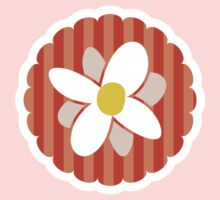 Candy stripe flower Kids Clothes