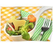 Kids Food With Mooooohhhhh  Poster