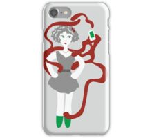 Socialmedia Lady - addiction iPhone Case/Skin