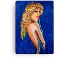 Bardot Azur Canvas Print