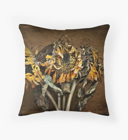 Vincent Bouquet Throw Pillow