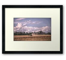 fruitful fields of barron Framed Print