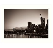 Frankfurt / Main - Skyline Art Print