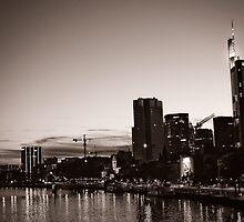 Frankfurt / Main - Skyline by Michaela Rother