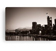 Frankfurt / Main - Skyline Canvas Print