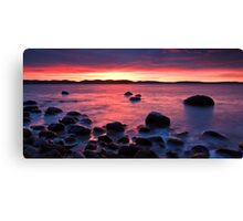 Beach near Flinders Esp, Taroona, Tasmania Canvas Print