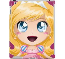Blond Princess In Pink Dress iPad Case/Skin