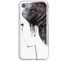 Chignon mignon iPhone Case/Skin